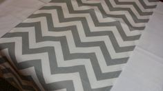 READY SHIP RUNNERS Select your size- Zigzag grey and white zig zag Table Runner Chevron gray 48 54 60 72 84 96 108 120 132 144 on Etsy, kr 88,55