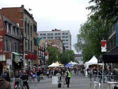 Saint Lauent Boulevard Montreal Montreal, Attraction, Saints, Saint Laurent, Street View, Santos, Yves Saint Laurent