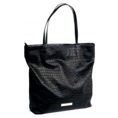 BCBGeneration Black Corey Tote Bag www.BagLane.com
