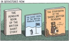 In bookstores now. The storybook of the short British Penguin!