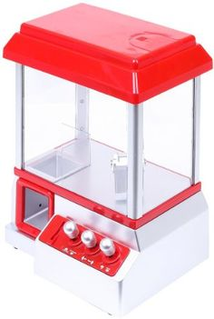 """VENKON - Candy Grabber Arcade Machine - """"The Sweet Claw"""" with Tokens"""