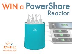 PowerShare Reactor from CHIL Giveaway - Giveaway Promote Open to: United States, Canada  Ending on: 05/20/2014