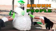Prank Scaring Drunk People - St Patrick's Day Special (NSFW) Drunk People, Evil Twin, Prank Videos, Funny Pranks, St Patricks Day, Snowman, Funny Jokes, Snowmen, Pranks