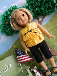 18 doll clothes American Girl doll clothes 18 by SewCuteJune