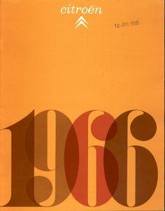 60's Citroen brochure