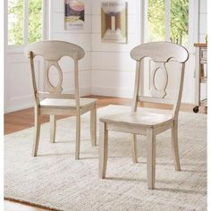 Inspire Q Weston Home Farmhouse Dining Chair with Napoleon Back Farmhouse Dining Chairs, Dining Chair Set, Dining Room, Find Furniture, Dining Furniture, Furniture Refinishing, Furniture Ideas, Napoleon Chair, Scandinavian Dining Chairs