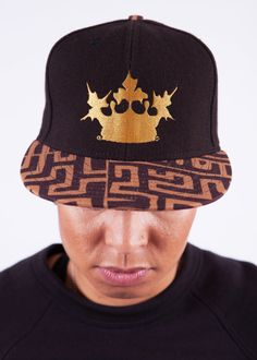 THIS SNAPBACK WAS INSPIRED BY THE PATTERN CALLED