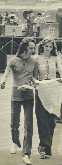 """Todd Rundgren and Bebe Buell.  This woman's life was """"Almost Famous."""""""