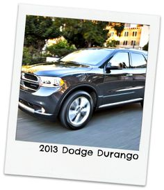 """2013 Dodge Durango   """"Repin"""" if this is your pick! #topcars"""