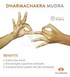 Mudras - Want to get Continuous flow of energy? Meditation Exercises, Yoga Mantras, Yoga Exercises, Reiki, Finger Yoga, Hand Mudras, Qi Gong, Restorative Yoga, Mindfulness Meditation