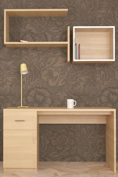 Wardrobe designs in different styles, materials & finishes are available in our bedroom design gallery. Study Tables, Wardrobe Design Bedroom, Cozy Corner, Organize Your Life, Living Spaces, Cool Designs, The Unit, Shelves, Awesome