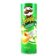 Pringles. It's cool, you don't have to go sour cream and onion. They have other flavors. They're all still Pringles.