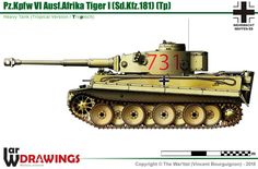 Pz.Kpfw VI Ausf.Afrika Tiger (Tp) (early production model)