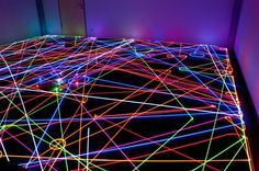 An incredible gallery of long exposure 'light painting' photographs that show the mesmerizing path of autonomous Roomba vacuum cleaners. Light Painting, Pictures To Paint, Art Pictures, Exposure Lights, Funky Lighting, Long Exposure Photos, The Mind's Eye, Neon Glow, Traffic Light