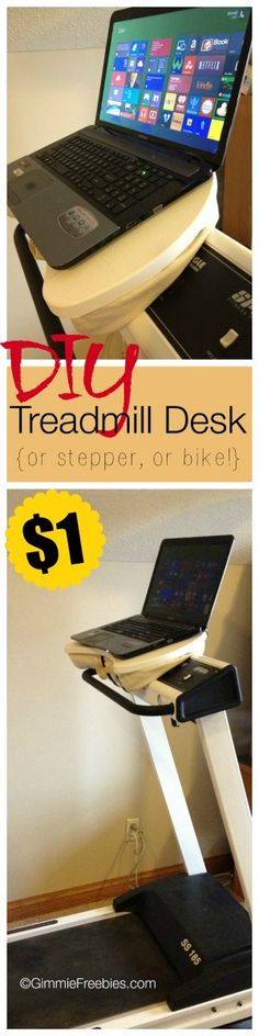 DIY Laptop Desk for