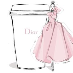 Dior by Megan Hess