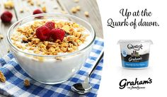 Graham's The Family Dairy's favourite quark breakfast ideas. #BreakfastIdeas #Quark