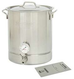 10 Gallon Stainless Steel 4 piece Brew Kettle Set 800-440
