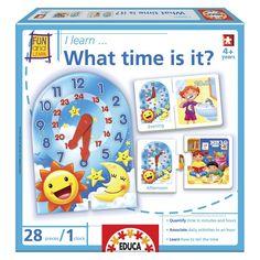 John N. Hansen Educa What Time is it game