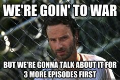 Deconstructing the Walking Dead meme | There is no wifi in a ...