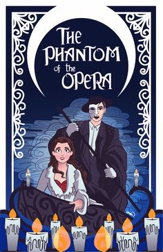 """laniniquequeriaserartista: """"The phantom of the opera is there, inside my mind """""""