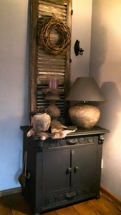 Decor, Interior, Diy Furniture, French Country Decorating Living Room, Room Box, House Styles, Home Decor, Home Deco, Vintage Shutters