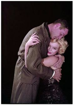 "Marilyn Monroe and Laurence Olivier ""The Prince and the Showgirl"" (1956) photo by Milton Greene"
