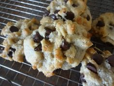 The Dwelling Tree: Delicious Paleo Chocolate Chip Cookies [Recipe]