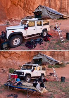 I want to car camp one day with a bunch of friends