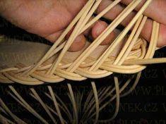 OPLET DNA MIRAHELKA – pletynek – album na Rajčeti Weaving Patterns, Basket Weaving, Dna, Hair Accessories, Apples, Weave, Baskets, Bamboo, Craft