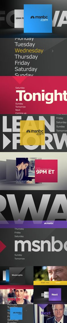 motion graphics/ storyboards/ styleframes | MSNBC - Carla Dasso
