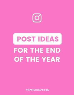Don't know what to post anymore? Here are my favorite Instagram post ideas for the end of the year. #instagramtips #instagramstrategy #instagrammarketing #socialmedia #socialmediatips