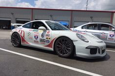 Congrats to Chuck and Christie Veth for their outstanding performance, in the 2016 Tire Rack One Lap of America race! This father & daughter team piloted their 2015 Porsche GT3 on Forgeline one piece forged monoblock GT1 wheels to second place, in the SSGT1 Big Bore class, and fourth place overall, and they were just 300 points out of first place! Great job, Guys!  #Forgeline #forged #monoblock #GT1 #notjustanotherprettywheel #madeinUSA #centerlock #Porsche #991GT3 #OLOA2016