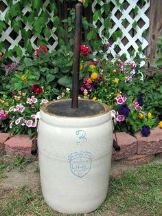 UHL Pottery 3 Gallon Churn