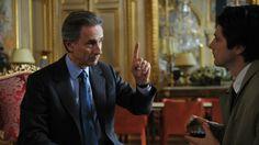 """""""Je vous confie... Le Langage!"""" (Thierry #Lhermitte dans le rôle de D. de Villepin) Belle critique de la #politique dans """"Quai d'Orsay"""""""
