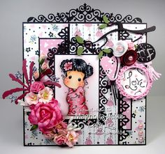 Cathy's Creative Place: Magnolia-licious - Pretty in Pink