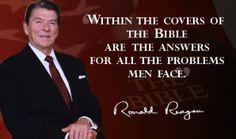 So true !! A brilliant man, Ronald Reagan