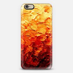 """""""MERMAID SCALES 2"""" by Artist Julia Di Sano, Ebi Emporium on @casetify Bold Colorful Autumn Burnt Orange Red Ombre Color Gradation Ocean Waves Coastal Abstract Textural Acrylic Painting Fall Chic Modern Mermaids Fantasy Fine Art Pattern iPhone Samsung Tech Device Case #iPhone #mermaid #orange #ombre #ocean #iPhone6 #iPhone6s #iPhone6sPlus #iPhone5 #Samsung #tech #techie #device #case Get $10 off using code: 5K7VFT"""