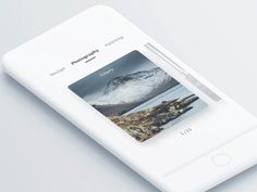 A picture app interactive animation
