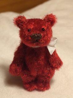 "Lori Wright - 1 1/2"" handmade teddy bear"