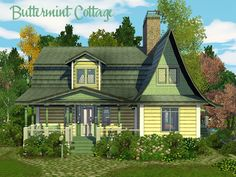 Annabel Lee@MTS - Buttermint Cottage (25x25) #Sims3