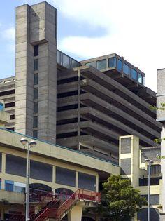 TRINITY CENTRE CAR PARK | GATESHEAD | TYNE & WEAR | ENGLAND: *Designed: 1962; Opened: 1967; Demolished: 2010; Designed By; Rodney Gordon (Owen Luder Partnership); 7-Parking Levels*
