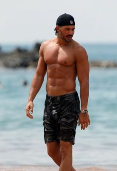 Joe Manganiello on the Beach, what could be better?