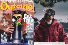 Outside Magazine Spread