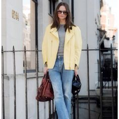 Distressed jeans & blazer - Colombine Smille via net a porter