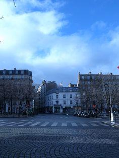 montparnasse, paris, townscape