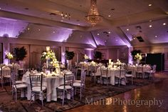 Grand Ballroom Wedding Reception   Springfield Country Club