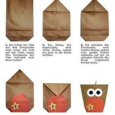 DIY Adventskalender Set zum Basteln - Weihnachtseulen Schwarz-weiß - Eulen Weihnachten - zum Befüllen - zum selber füllen 24 braune Papiertüten - zum selber befüllen (Bodenbeutel, Größe flachliegend: 14 x 22 cm) 24 naturfarbene Klammern aus Holz (45mm Länge) 4 DIN A4 Bögen (300g) mit insgesamt 24 Eulenbäuchen zum Selbstausschneiden und Aufkleben mit den Zahlen von 1 bis 24 (6 verschiedene Farben/Muster je 4mal) 2 DIN A4 Bögen mit 48 fertigen Augen zum Aufkleben (Durchmesser 4cm)