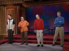 Whose Line Bloopers: The Ian Gomez taping