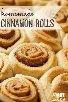 Homemade cinnamon rolls are easier to make than you'd think! We're walking you through a super simple homemade cinnamon rolls recipe step-by-step so you can start making cinnamon rolls at home too!